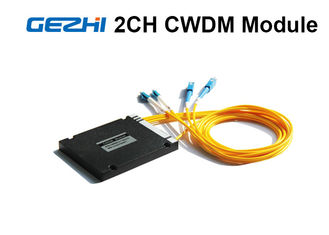 2 Channels Acess Network CWDM Mux Demux ABS Pigtailed Module